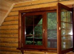 Нужны окна на дачу недорого «под дерево»?